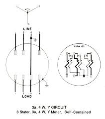 electric meter wiring diagram wiring diagram and schematic design