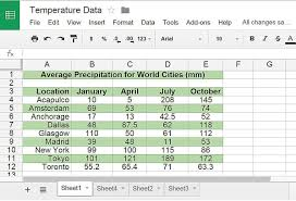 Features Of Spreadsheets Review Of Google Sheets
