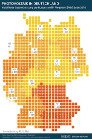 bundesländer nach fläche photovoltaik deutschland installierte leistung nach bundesländern