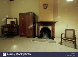 interior of rest house on hill station sri lanka stock photo