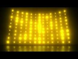 yellow lights wall background motion loops hd