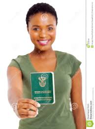 south african id book stock photo image 33289350
