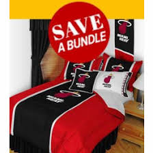 Bedroom Sets Miami Buy Today Miami Heat Bedding Bedding Sets Comforter Sheet Sets