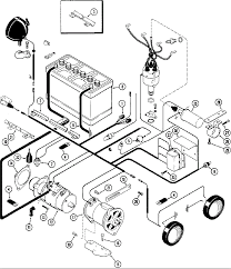 case ignition diagram ignition system wiring diagram