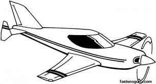 printable coloring pages kids flying plane printable