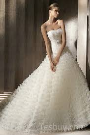 designer wedding dress glorious organza ruffles luxury designer wedding dress with