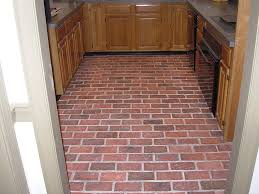 Brick Pavers Pictures by Cabinet Kitchens With Brick Floors Kitchen Brick Flooring News