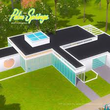 Mid Century Modern Tiny House by Mid Century Modern House In The Sims 4 Snw Simsnetwork Com