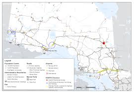 North Bay Mnr Fire by Draft Northern Ontario Multimodal Transportation Strategy
