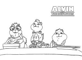 printable alvin chipmunks coloring pages coloringstar