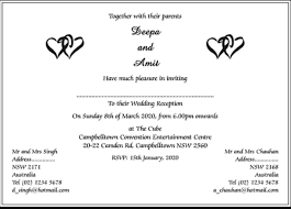 indian wedding invitation wordings indian wedding and reception invitation wording wcm