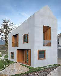 two homes two in one villa one house for two families modern architecture