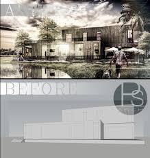 3d Home Architect Design Tutorial by Photoshop For Architect Rendering By Photoshop Photoshop