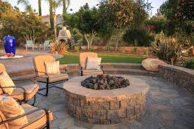 custom outdoor firepits gallery western outdoor design and build