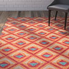 Red Turquoise Rug Varick Gallery Helfrich Red Orange Turquoise Indoor Outdoor Area