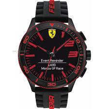 rose gold ferrari men u0027s scuderia ferrari alarm watch 0830375 watch shop com