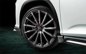 lexus rx wheels and tires toyota u0027s trd division makes the lexus rx look even more striking