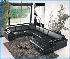 canapé angle noir haut canape angle cuir noir image de canapé décoratif 1481