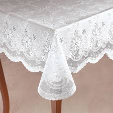 decoration lace plastic tablecloths plastic lace tablecloths for
