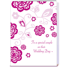 Wedding Message Card Wedding Day Wishes Greeting Card By Tilia Press Card Gnome