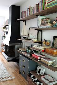 Wood Wall Mounted Shelving 193 Best Home Wall Mounted Shelving Images On Pinterest Book