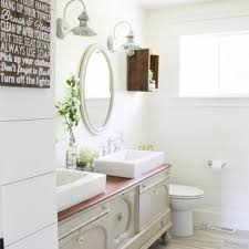 farmhouse style bathrooms 15 farmhouse style bathrooms full of rustic charm making it in the