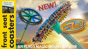 six flags magic mountain crazanity new for 2018 at six flags magic mountain promo pov