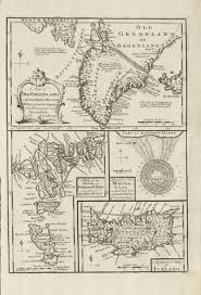 Faroe Islands Map A Map Of Old Greenland Or Oster Bygd U0026 Wester Bygd An Improved