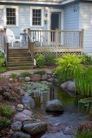 Best Fish Ponds Images On Pinterest Pond Ideas Garden Ideas - Backyard pond designs small