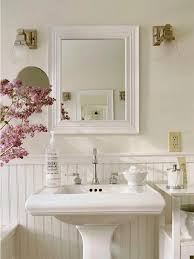 Shabby Chic Bathroom Accessories Sets French Country Bathroom Decor Arch Faucets Classic Satin Nickel