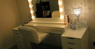 Ikea White Vanity Table Makeup Vanity Table Ikea The 25 Best Ikea Makeup Storage Ideas On