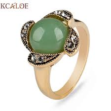 antique gold rings images Kcaloe antique gold color vintage rings for women retro jpg
