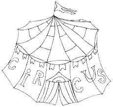 Circus Coloring Pages Fablesfromthefriends Com Circus Coloring Page