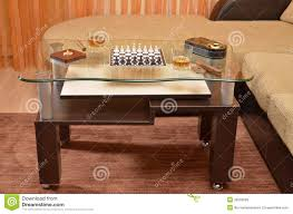 cigar table table with chess cigar and whisky stock photo image 30565682