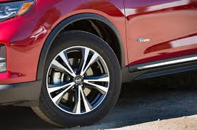 nissan leaf spare tire 2017 nissan rogue hybrid first drive review mystery date motor