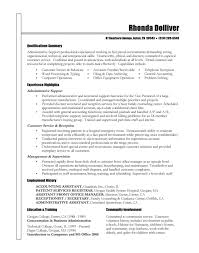 Technical Skills Resume Examples by Sample Resume Of Executive Recruiter