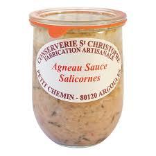 cuisiner la salicorne agneau sauce salicorne cuisine atlantique et manche chasse marée