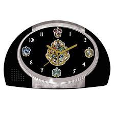 Bling Alarm Clock Neca Harry Potter Hogwarts Houses Alarm Clock Walmart Com