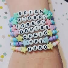 Name Braclets Dream Daddy Name Bracelets