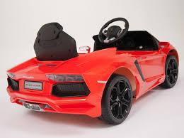 Kids Car Blinds Magic Cars Kids Ride On Rc Lamborghini Aventador Car W Keys U0026 Mat