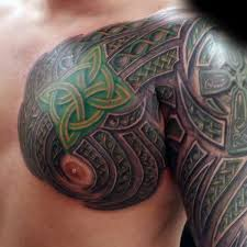 40 celtic sleeve designs for manly ink ideas chest