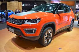 jeep compass trailhawk 2017 jeep compass trailhawk front three quarters left side at 2017