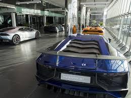 lamborghini car dubai lamborghini showroom in the opens in dubai