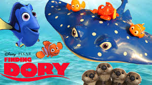 finding dory toys disney finding nemo 2 ray otters