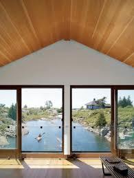 beautiful lake huron floating house by mos inhabitat green дом на озере в канаде floating house