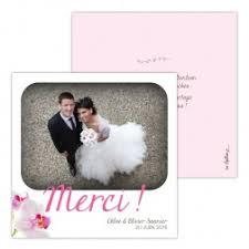modele remerciement mariage carte remerciement mariage avec photo
