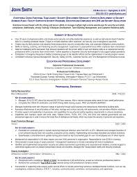 Comprehensive Resume Sample Format by Office Police Officer Resume Examples