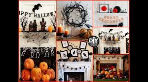 diy halloween mantel decorating ideas fall room decor youtube