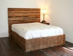 Pallet Bed Frame Plans Wood Pallet Bed Frame With Lights Data Centre Design