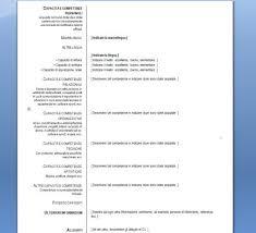 curriculum vitae formato europeo pdf da compilare online curriculum vitae europeo per mac download